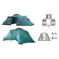 Палатка Tramp Brest 9 кемпинговая