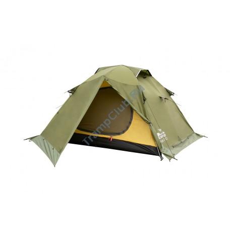 Палатка экстремальная Tramp Peak 3 (V2) зеленый - TRT-26