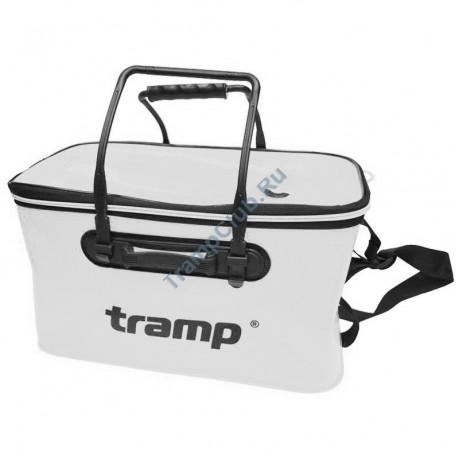 Сумка рыболовная из ЭВА белая L - Tramp TRP-030