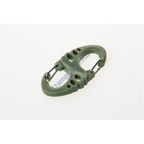 Карабин пластиковый  S-type оливковый - Tramp TRA-218