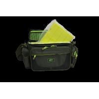 Tramp сумка рыболовная с пластиковыми коробками (2шт) 40*17*24см М
