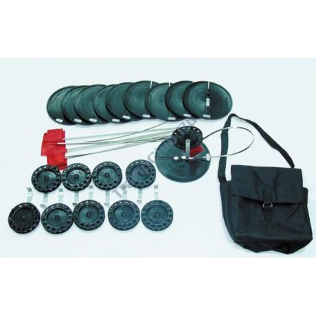 Набор жерлиц (d-200 мм.) в сумке(10 шт.на кат.63мм) - 6-02-0060