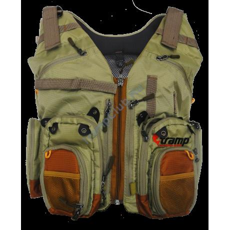 Жилет рыболовный разгрузочный Angler S/M - Tramp TRFB-006