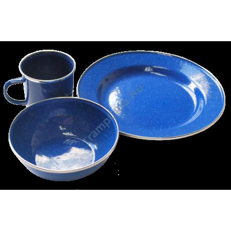 Набор посуды эмалированой на 1 чел. - Tramp TRC-074
