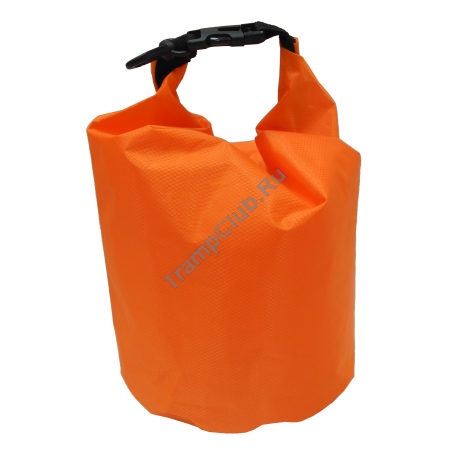 Гермомешок ПВХ Diamond RipStop оранжевый 50л - Tramp TRA-208