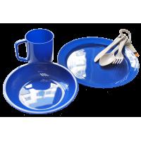 Tramp набор посуды пластиковой TRC-047 пластик