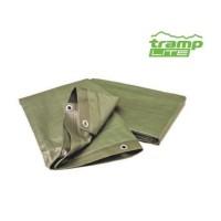 Tramp Lite тент 4*6 м. тарпаулинг (зеленый)