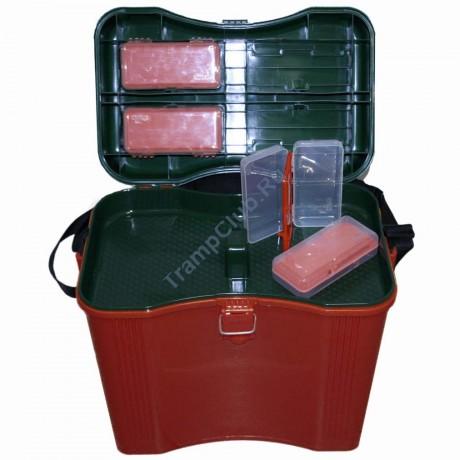 Ящик рыболовный терракотовый - Tramp TRA-181
