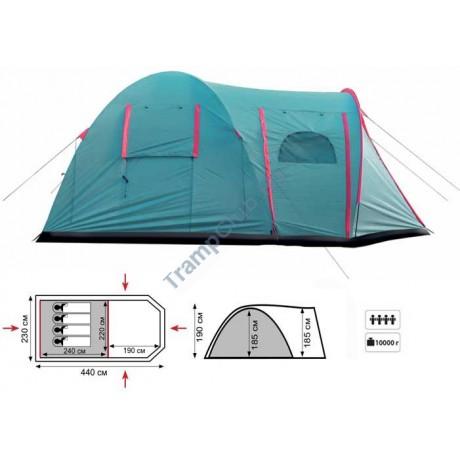 Палатка кемпинговая Tramp Anaconda