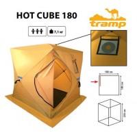 Tramp палатка/баня Hot Cube 180 желтый