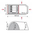 Sol палатка кемпинговая Curoshio 4