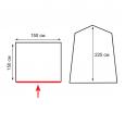 Палатка для душа (туалета) TOTEM PRIVAT V2 - TTT-022