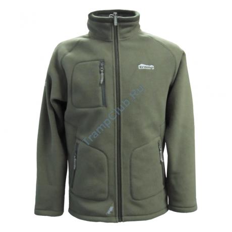 Мужская куртка Алатау (зеленый/серый) - Tramp TRMF-004