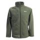 Куртка Tramp Алатау мужская (зелёный/серый)
