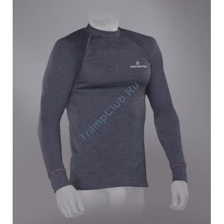 Tramp футболка с длинным рукавом мужская Trekking (серый)