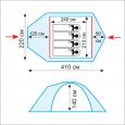 Комплект дуг дюрапол для Lair 4 - Tramp TRA-090