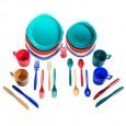 Набор посуды пластиковой на 4 чел. - Tramp TRC-053