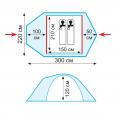 Комплект дуг дюрапол для Space 2 - Tramp TRA-098