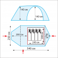 Комплект дуг дюрапол для Grot B - Tramp TRA-092