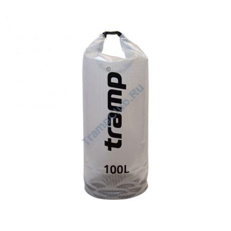 Гермомешок прозрачный 100л - Tramp TRA-109