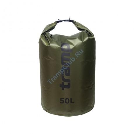 Гермомешок ПВХ Diamond RipStop оливковый 50л - Tramp TRA-208