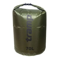 Tramp гермомешок ПВХ Diamond RipStop 70л оливковый, 70 л