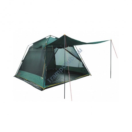 Палатка шатер Tramp Bungalow Lux Green (V2) TRT-85