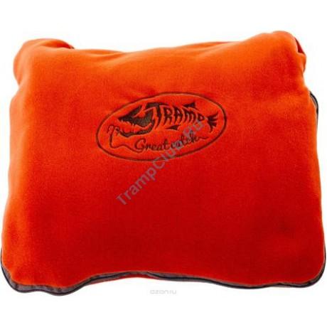Tramp плед-подушка в чехле терракотовый - Tramp TRS-034