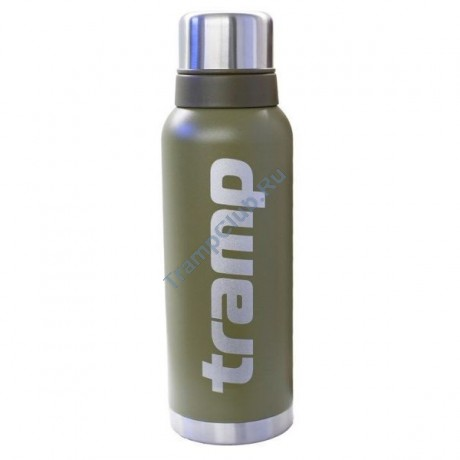 Термос Tramp 1.2 литра - TRC-028 оливковый
