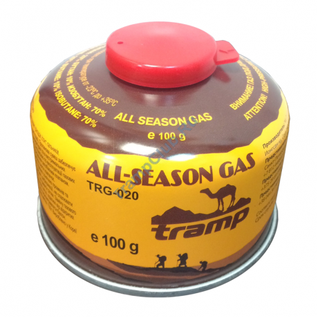 Газовый баллон 100г резьба - Tramp TRG-020