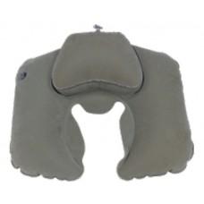 Tramp Lite подушка надувная под шею Комфорт TLA-008 серый