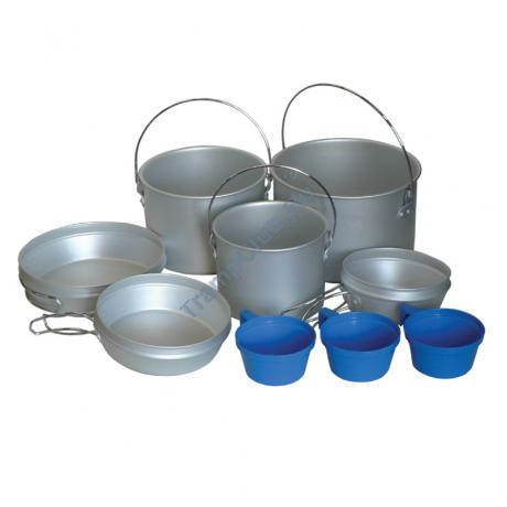 Набор посуды (алюминий) - Tramp TRC-002