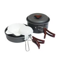 Tramp набор посуды TRC-025 анодированный алюминий