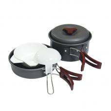Набор посуды (анодированный алюминий) - Tramp TRC-025