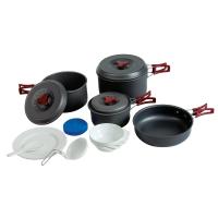 Tramp набор посуды TRC-026 анодированный алюминий