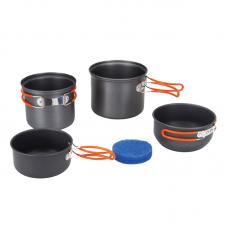 Tramp набор посуды TRC-075 анодированный алюминий