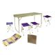 Tramp мебель набор  в кейсе TRF-005 серый/синий