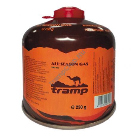 Газовый баллон 230г резьба - Tramp TRG-003