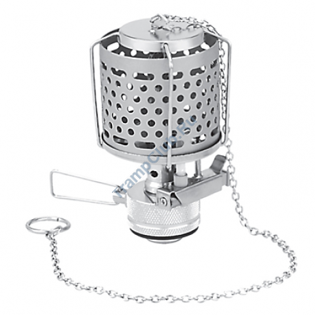 Лампа туристическая с металическим плафоном и пьезоподжигом - Tramp TRG-014