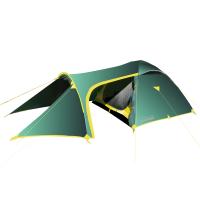 Палатка туристическая Tramp Grot 3 зелёный