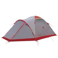 Tramp палатка Mountain 3 серый