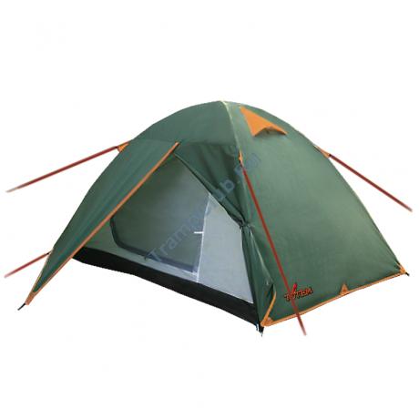 Totem палатка туристическая Tepee 2 (зеленый)