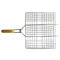 Totem решётка-гриль хром плоск малая 35×26,5 см