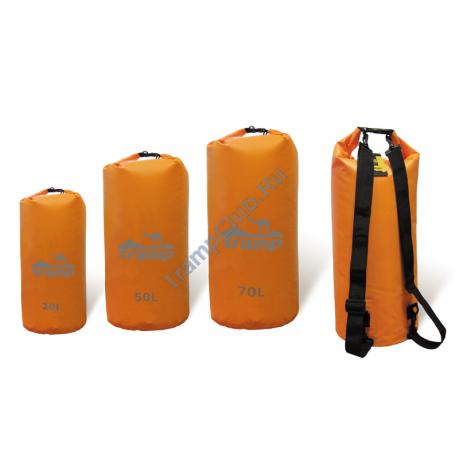 Гермомешок оранжевый 50л - Tramp TRA-068