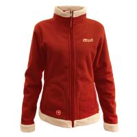 Куртка Tramp Бия женская  (алый/бежевый)