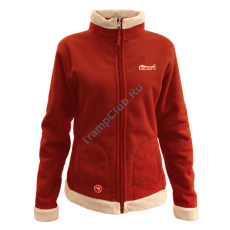 Женская куртка Бия (алый/бежевый) - Tramp TRWF-001