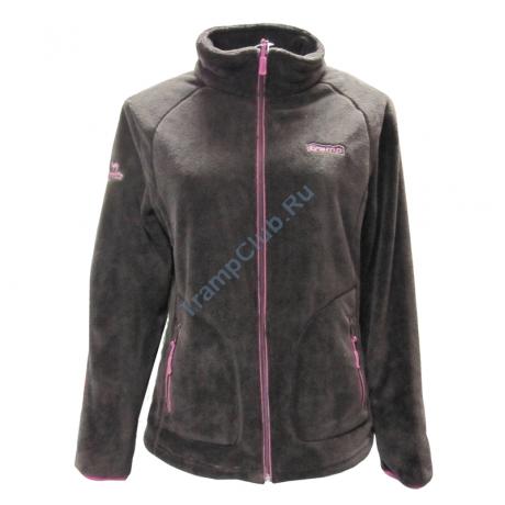Женская куртка Мульта (chocolate/pink) - Tramp TRWF-003
