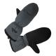 Tramp варежки утепленные (черный, размер L/XL)