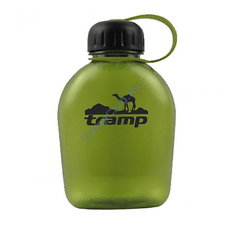 Фляга пластиковая 650 мл. (зеленый) - Tramp TRC-072