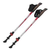 Tramp палки для скандинавской ходьбы Compact красный-белый